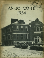 Page 1, 1954 Edition, Anna Jonesboro High School - Wildcat Lair Yearbook (Anna, IL) online yearbook collection
