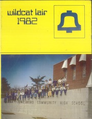 1982 Edition, Anna Jonesboro High School - Wildcat Lair Yearbook (Anna, IL)