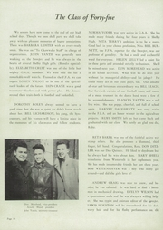 Page 14, 1945 Edition, Shelbyville High School - Okawwako Yearbook (Shelbyville, IL) online yearbook collection