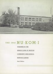 Page 5, 1942 Edition, Newton Community High School - Nu Kom I Yearbook (Newton, IL) online yearbook collection