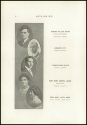 Page 14, 1916 Edition, Monticello High School - Memories Yearbook (Monticello, IL) online yearbook collection