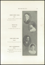 Page 17, 1916 Edition, Monticello High School - Memories Yearbook (Monticello, IL) online yearbook collection
