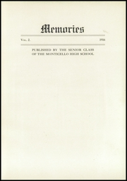 Page 7, 1916 Edition, Monticello High School - Memories Yearbook (Monticello, IL) online yearbook collection