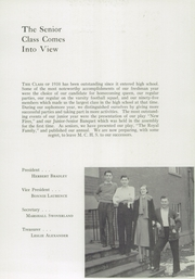 Page 11, 1938 Edition, Monticello High School - Memories Yearbook (Monticello, IL) online yearbook collection