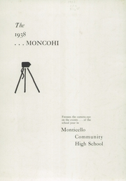 Page 3, 1938 Edition, Monticello High School - Memories Yearbook (Monticello, IL) online yearbook collection