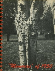 Page 1, 1950 Edition, Monticello High School - Memories Yearbook (Monticello, IL) online yearbook collection