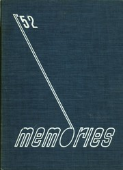 Monticello High School - Memories Yearbook (Monticello, IL) online yearbook collection, 1952 Edition, Page 1
