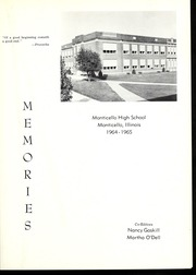 Page 5, 1965 Edition, Monticello High School - Memories Yearbook (Monticello, IL) online yearbook collection