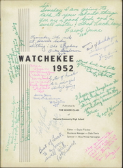Page 5, 1952 Edition, Watseka High School - Watchekee Yearbook (Watseka, IL) online yearbook collection