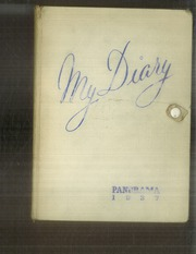 Page 1, 1937 Edition, Pana Township High School - My Diary Yearbook (Pana, IL) online yearbook collection
