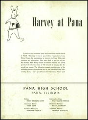 Page 6, 1952 Edition, Pana Township High School - My Diary Yearbook (Pana, IL) online yearbook collection
