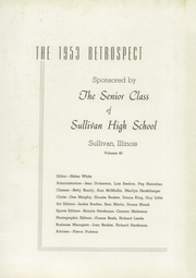 Page 5, 1953 Edition, Sullivan High School - Retrospect Yearbook (Sullivan, IL) online yearbook collection