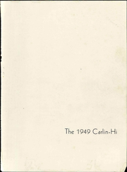 Page 7, 1949 Edition, Carlinville High School - Carlin Hi Yearbook (Carlinville, IL) online yearbook collection