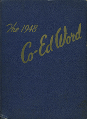 1948 Edition, St Edward High School - Co Ed Word Yearbook (Elgin, IL)
