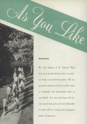 Page 6, 1949 Edition, St Edward High School - Co Ed Word Yearbook (Elgin, IL) online yearbook collection