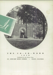 Page 7, 1949 Edition, St Edward High School - Co Ed Word Yearbook (Elgin, IL) online yearbook collection