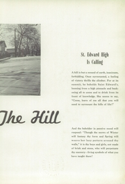 Page 7, 1952 Edition, St Edward High School - Co Ed Word Yearbook (Elgin, IL) online yearbook collection