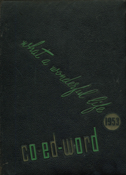 1953 Edition, St Edward High School - Co Ed Word Yearbook (Elgin, IL)