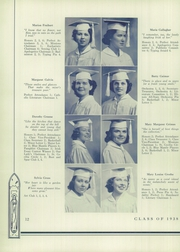 Page 16, 1938 Edition, Immaculata High School - Immaculata Yearbook (Chicago, IL) online yearbook collection
