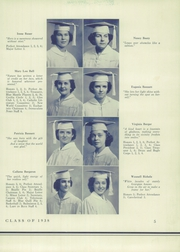 Page 9, 1938 Edition, Immaculata High School - Immaculata Yearbook (Chicago, IL) online yearbook collection