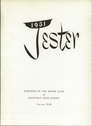 Page 5, 1951 Edition, Knoxville High School - Jester Yearbook (Knoxville, IL) online yearbook collection