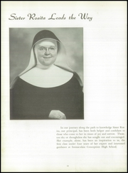 Page 14, 1955 Edition, Immaculate Conception High School - Postscript Yearbook (Elmhurst, IL) online yearbook collection