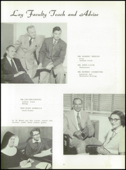 Page 15, 1955 Edition, Immaculate Conception High School - Postscript Yearbook (Elmhurst, IL) online yearbook collection