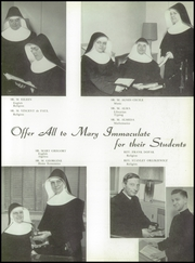 Page 17, 1955 Edition, Immaculate Conception High School - Postscript Yearbook (Elmhurst, IL) online yearbook collection