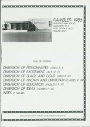 Page 5, 1986 Edition, Riverdale High School - Rambler Yearbook (Port Byron, IL) online yearbook collection