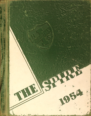 1954 Edition, Illiana Christian High School - Spire Yearbook (Lansing, IL)
