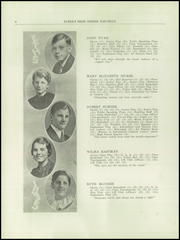 Page 10, 1935 Edition, Eureka High School - Hornet Yearbook (Eureka, IL) online yearbook collection