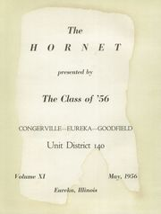 Page 5, 1956 Edition, Eureka High School - Hornet Yearbook (Eureka, IL) online yearbook collection