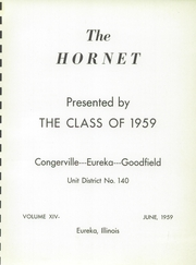 Page 5, 1959 Edition, Eureka High School - Hornet Yearbook (Eureka, IL) online yearbook collection