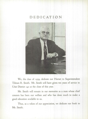 Page 8, 1959 Edition, Eureka High School - Hornet Yearbook (Eureka, IL) online yearbook collection