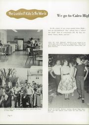 Page 12, 1957 Edition, Cairo High School - Egypti Yearbook (Cairo, IL) online yearbook collection