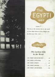 Page 7, 1957 Edition, Cairo High School - Egypti Yearbook (Cairo, IL) online yearbook collection