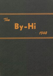 1948 Edition, Byron Area High School - By Hi Yearbook (Byron, IL)