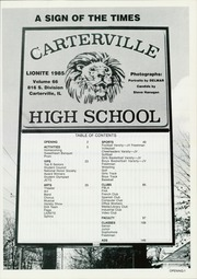 Page 5, 1985 Edition, Carterville High School - Lionite Yearbook (Carterville, IL) online yearbook collection