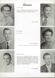 Page 12, 1955 Edition, Unity High School - Rocket Yearbook (Tolono, IL) online yearbook collection