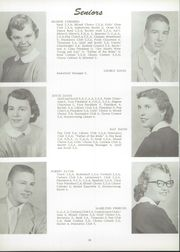 Page 14, 1955 Edition, Unity High School - Rocket Yearbook (Tolono, IL) online yearbook collection