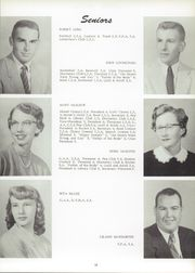 Page 17, 1955 Edition, Unity High School - Rocket Yearbook (Tolono, IL) online yearbook collection