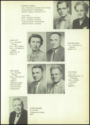 Page 13, 1954 Edition, Gillespie High School - Gillespian Yearbook (Gillespie, IL) online yearbook collection