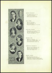 Page 17, 1923 Edition, Jamestown High School - Red and Green Yearbook (Jamestown, NY) online yearbook collection