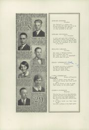 Page 14, 1929 Edition, Jamestown High School - Red and Green Yearbook (Jamestown, NY) online yearbook collection