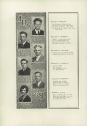 Page 16, 1929 Edition, Jamestown High School - Red and Green Yearbook (Jamestown, NY) online yearbook collection