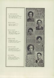 Page 17, 1929 Edition, Jamestown High School - Red and Green Yearbook (Jamestown, NY) online yearbook collection