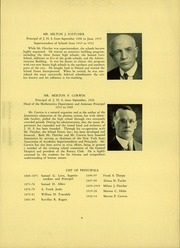 Page 13, 1934 Edition, Jamestown High School - Red and Green Yearbook (Jamestown, NY) online yearbook collection