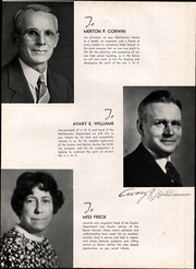 Page 13, 1936 Edition, Jamestown High School - Red and Green Yearbook (Jamestown, NY) online yearbook collection
