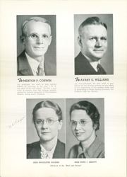 Page 12, 1937 Edition, Jamestown High School - Red and Green Yearbook (Jamestown, NY) online yearbook collection