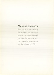 Page 8, 1937 Edition, Jamestown High School - Red and Green Yearbook (Jamestown, NY) online yearbook collection